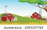 illustration of countryside... | Shutterstock .eps vector #1093157765