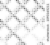 grunge halftone black and white ... | Shutterstock . vector #1093165211