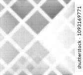 abstract grunge grid polka dot... | Shutterstock . vector #1093169771