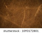 old brown leather background. | Shutterstock . vector #1093172801