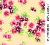 abstract elegance seamless... | Shutterstock . vector #1093180514