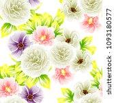 abstract elegance seamless... | Shutterstock . vector #1093180577