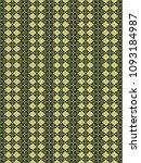 green geometric pattern in...   Shutterstock . vector #1093184987