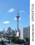 Small photo of AUCKLAND - FEB 07 2018:Auckland city center skyline.Auckland City is the most populous district in New Zealand with population of over 450,000 people.