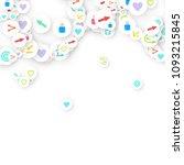 social media marketing ...   Shutterstock .eps vector #1093215845