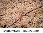 copper wire and ground rod.... | Shutterstock . vector #1093220885