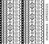 ethnic boho seamless pattern.... | Shutterstock .eps vector #1093222121