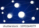 dark blue vector background...   Shutterstock .eps vector #1093264079