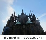 the metropolitan cathedral of... | Shutterstock . vector #1093287344