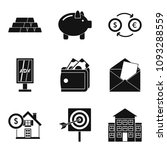 promiser icons set. simple set... | Shutterstock . vector #1093288559