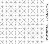 seamless abstract black texture ... | Shutterstock . vector #1093299749