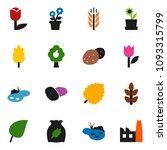 solid vector ixon set   cereal... | Shutterstock .eps vector #1093315799
