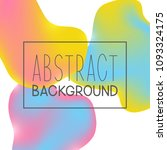 abstract background with color... | Shutterstock .eps vector #1093324175