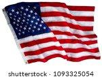 beautifully waving star and...   Shutterstock . vector #1093325054