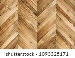 fragment of parquet floor.  | Shutterstock . vector #1093325171