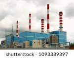 thermal power plant | Shutterstock . vector #1093339397