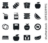 set of simple vector isolated... | Shutterstock .eps vector #1093339991