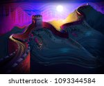 vector illustration of the... | Shutterstock .eps vector #1093344584