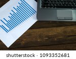 notebook laptop computer and... | Shutterstock . vector #1093352681
