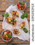 mediterranean vegetable... | Shutterstock . vector #1093352915