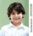 kid portrait | Shutterstock . vector #109335389