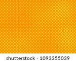 orange comic pop art halftone...   Shutterstock .eps vector #1093355039