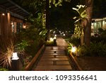 the entrance way to restaurant  ... | Shutterstock . vector #1093356641