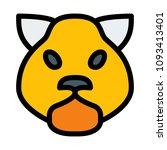 forest wild hamster | Shutterstock .eps vector #1093413401