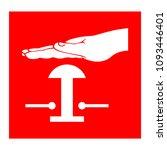 deluge switch symbols  vector...   Shutterstock .eps vector #1093446401