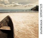 beach background | Shutterstock . vector #109347125