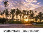 sunrise at kulim  kedah ... | Shutterstock . vector #1093480004