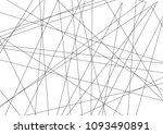 amazing diagonal black... | Shutterstock .eps vector #1093490891