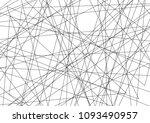 amazing diagonal black... | Shutterstock .eps vector #1093490957