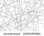 amazing diagonal black... | Shutterstock .eps vector #1093490984