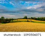 springtime rural barn | Shutterstock . vector #1093506071
