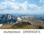aerial view of mountains range... | Shutterstock . vector #1093542371
