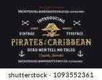 original handmade alphabet.... | Shutterstock .eps vector #1093552361