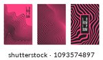 cover design templates set with ... | Shutterstock .eps vector #1093574897