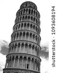 photo showing the leaning tower ... | Shutterstock . vector #1093608194