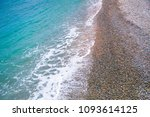 Small photo of sea water shore