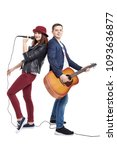 A Musical Duo Of A Young Coupl...