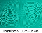 gradient polka dots green...   Shutterstock .eps vector #1093645985