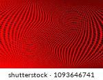 gradient polka dots red...   Shutterstock .eps vector #1093646741