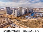 onstruction site  high angle... | Shutterstock . vector #1093653179