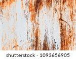 metal rust background metal... | Shutterstock . vector #1093656905