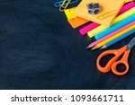 1 september  back to school or... | Shutterstock . vector #1093661711