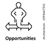 opportunities vector icon | Shutterstock .eps vector #1093667531