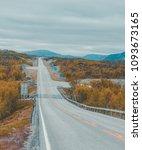border crossing between finland ... | Shutterstock . vector #1093673165