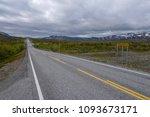border crossing between finland ... | Shutterstock . vector #1093673171