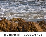 amazing sea with blue summer...   Shutterstock . vector #1093675421